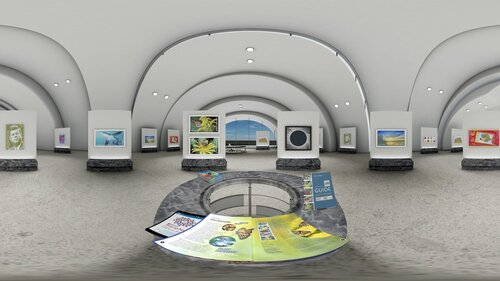 Building A VR Stamp Gallery With USPS